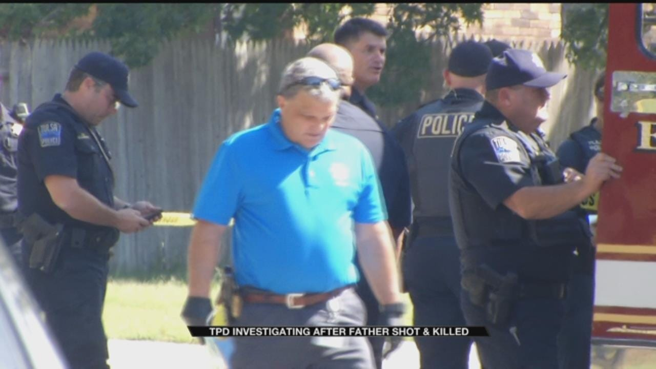 Tulsa Man Shot Dead In Front Of Wife And Kids
