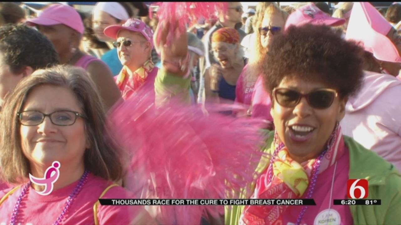 Sea Of Pink Takes On Breast Cancer At Race For The Cure