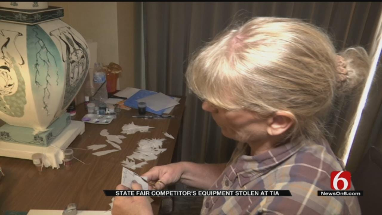 Dutch Sugar Art Show Contestant Robbed On Way To State Fair