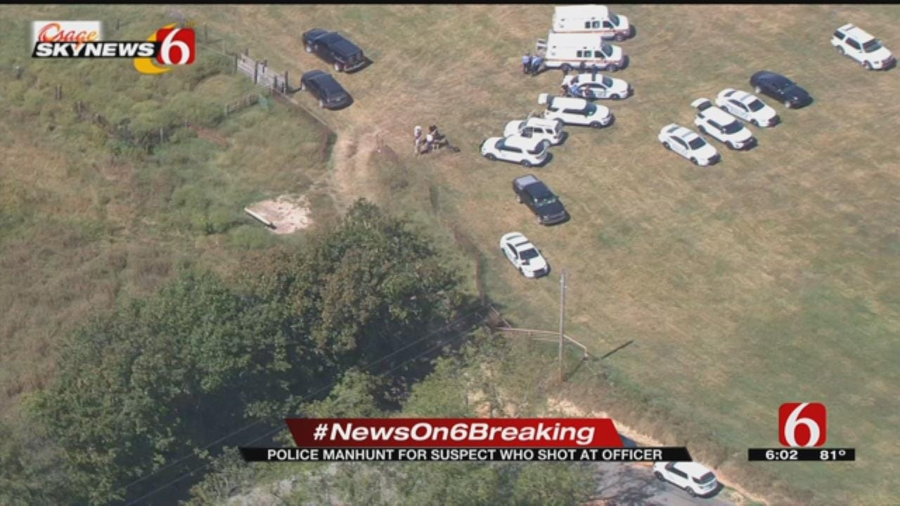 Suspect Shoots At Stilwell Police During Pursuit