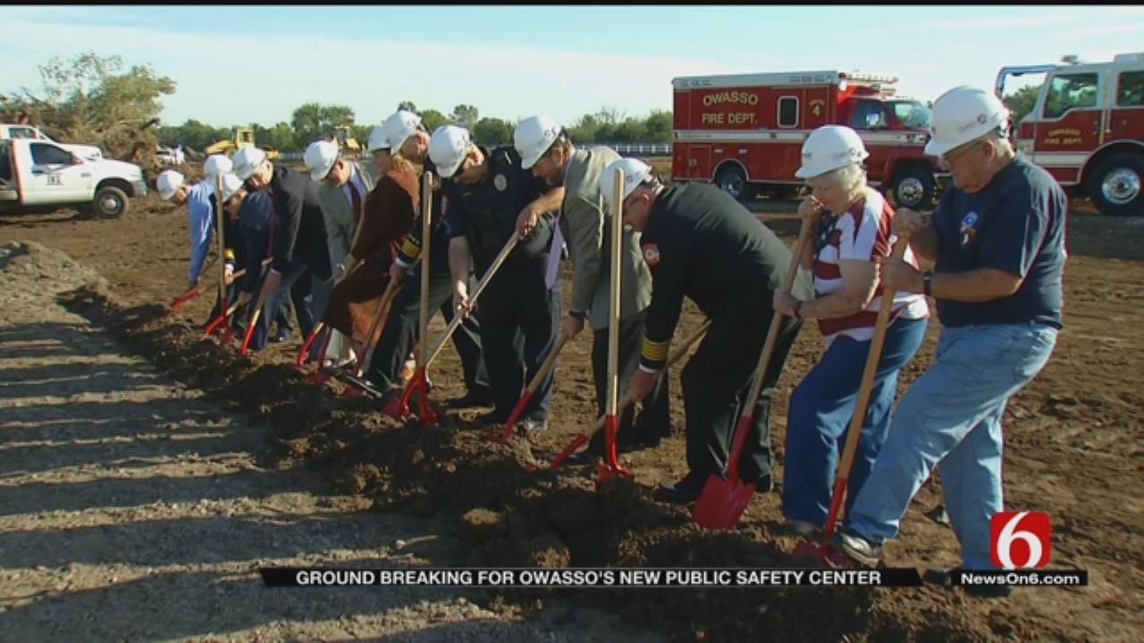 Owasso Breaks Ground On New Public Safety Center