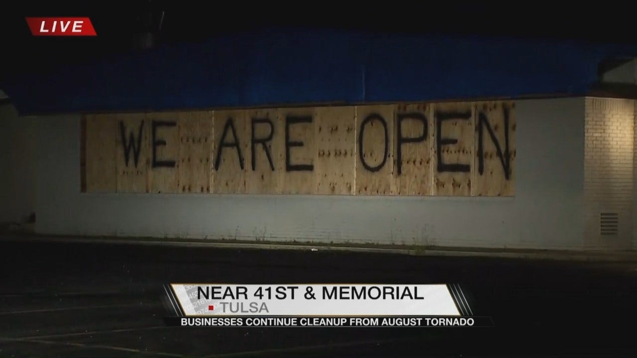 Tulsa Store Back To Business After August Tornado