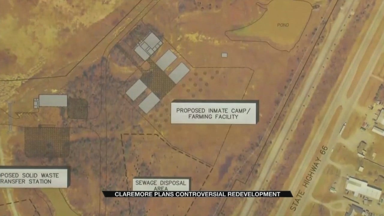 Possible Inmate Farm For Claremore