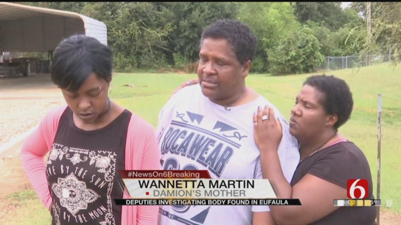 Eufaula Family Hopes Body Found Belongs To Loved One
