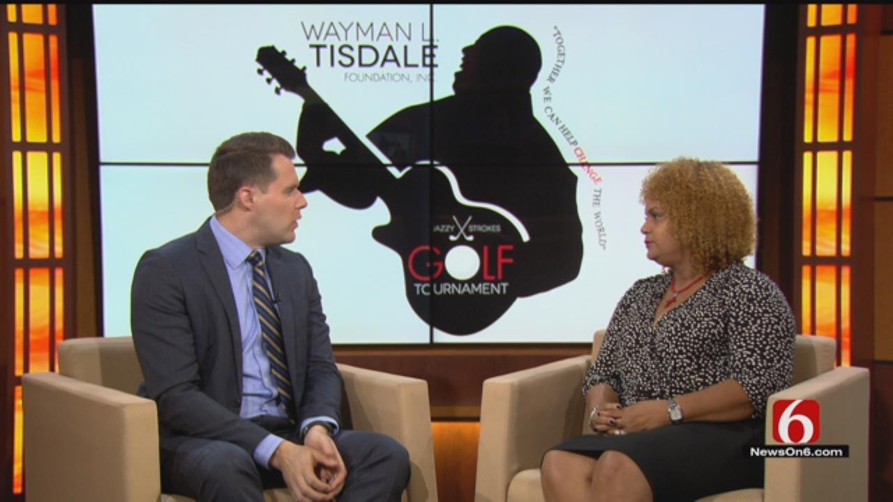 Wayman Tisdale's Wife, Regina, Discusses 'Jazzy Strokes' Golf Tournament