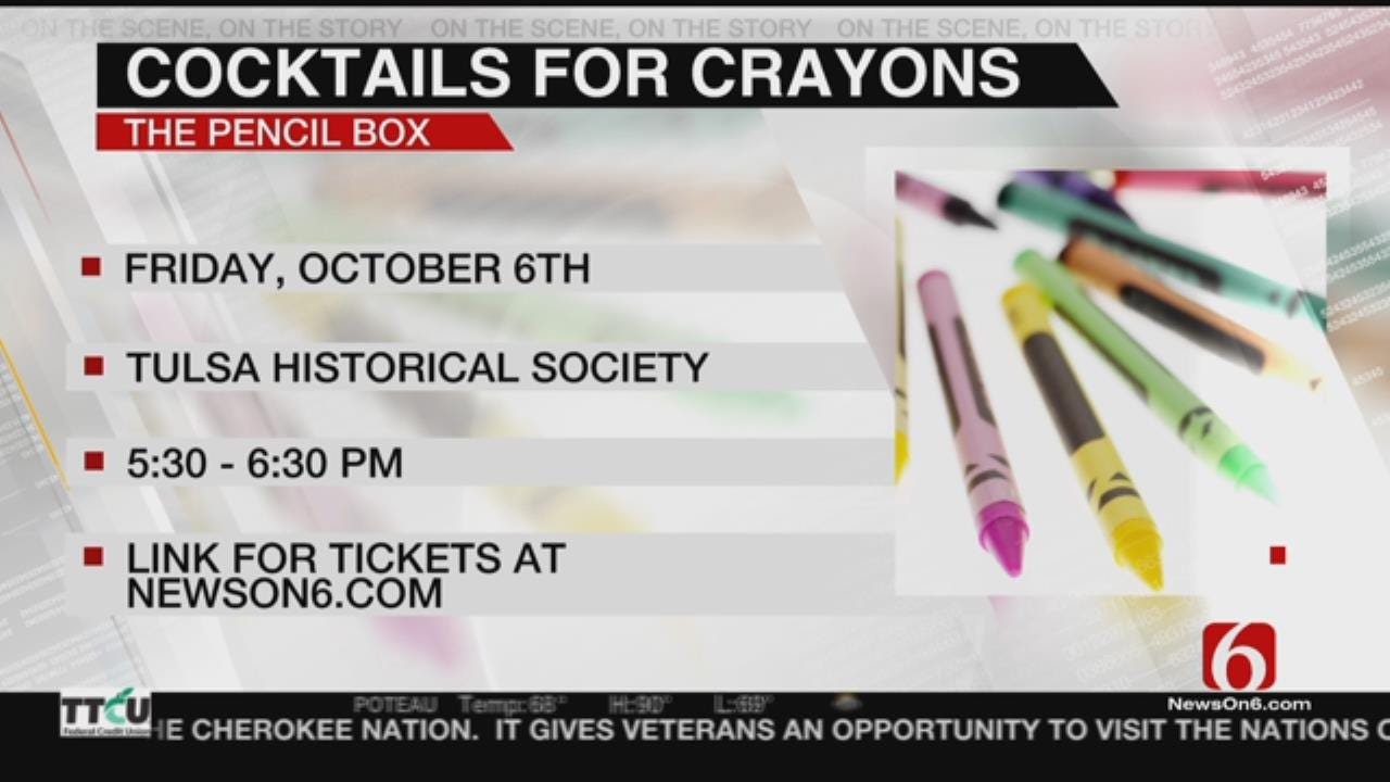 Preview Of Tulsa's 'The Pencil Box' Gala