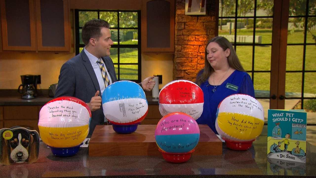 NSU Professor: How To Use A Beach Ball As A Learning Tool