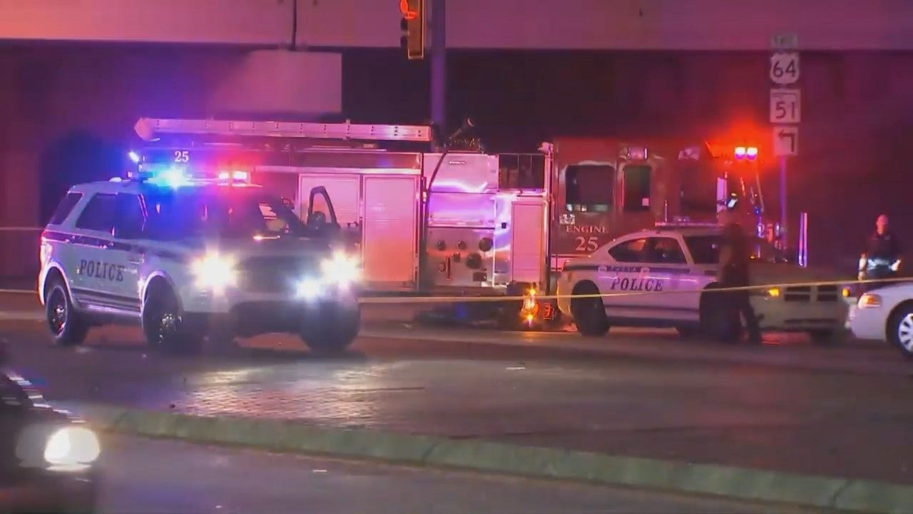 WEB EXTRA: Video From Scene Of Fatal Tulsa Crash