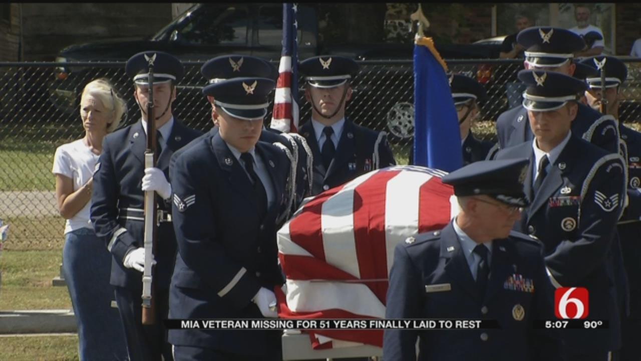 Returned Air Force Veteran Given Proper Burial In Claremore