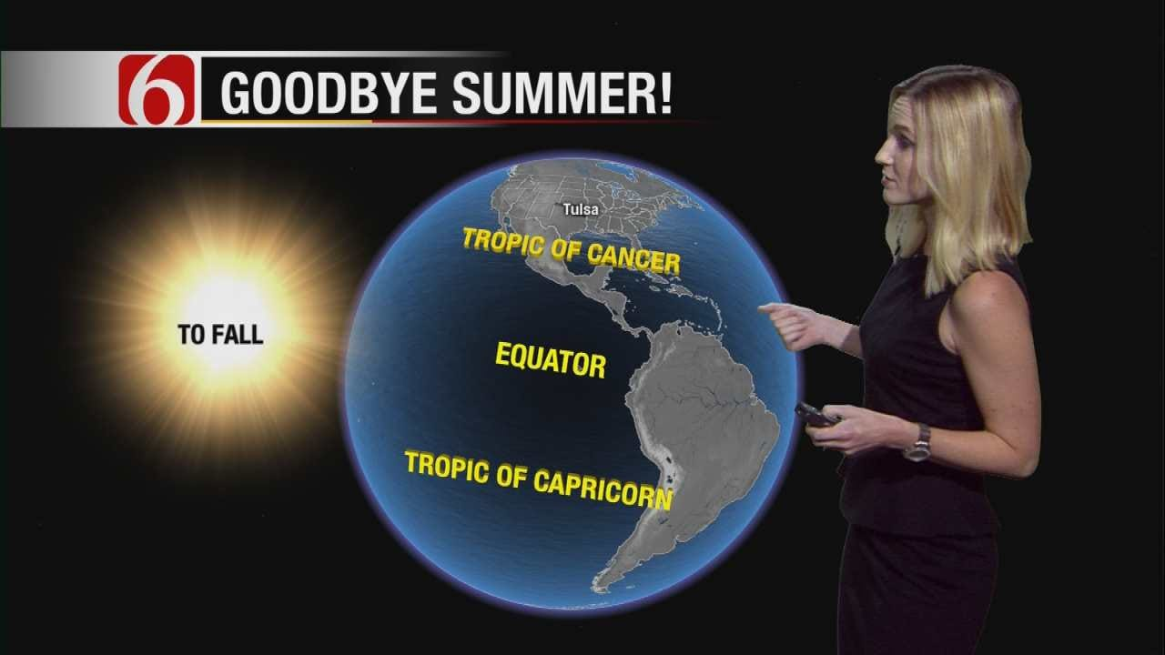 Meteorologist Stacia Knight Explains The Autumnal Equinox