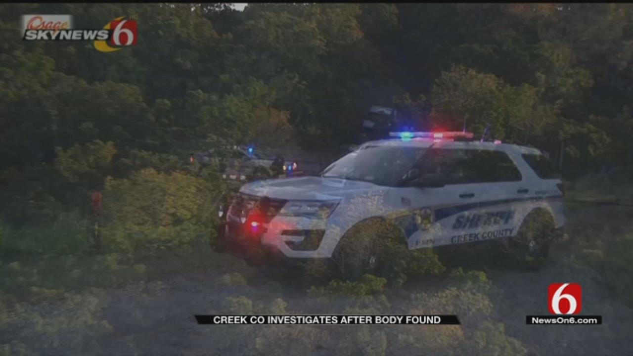 Body Found In Ditch Near Kellyville; OSBI Investigating