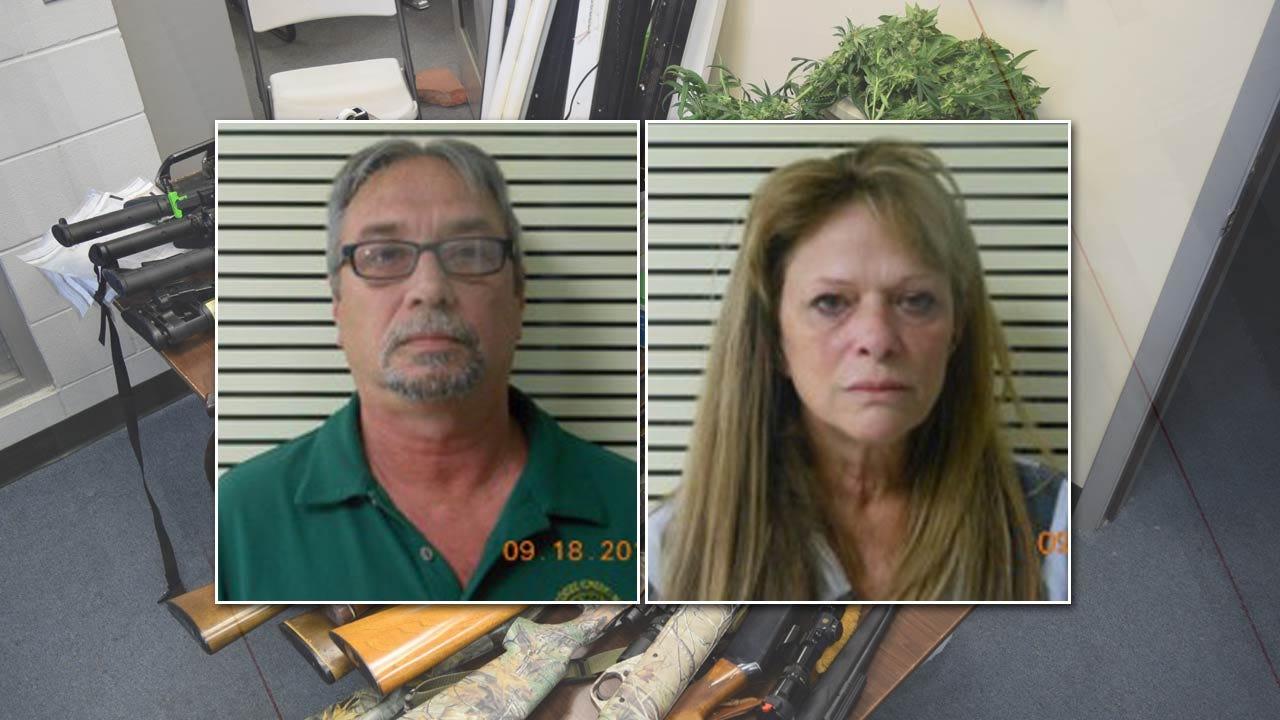 Lori Fullbright: Wagoner County Couple Arrested For Marijuana Grow