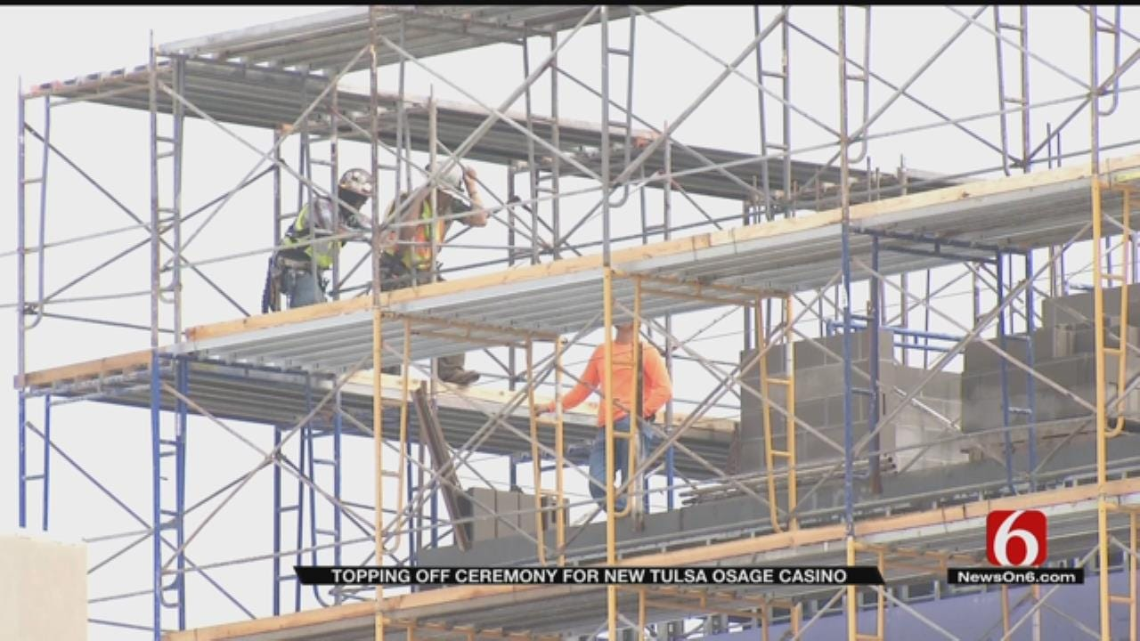 Osage Casino Tops Off New Hotel