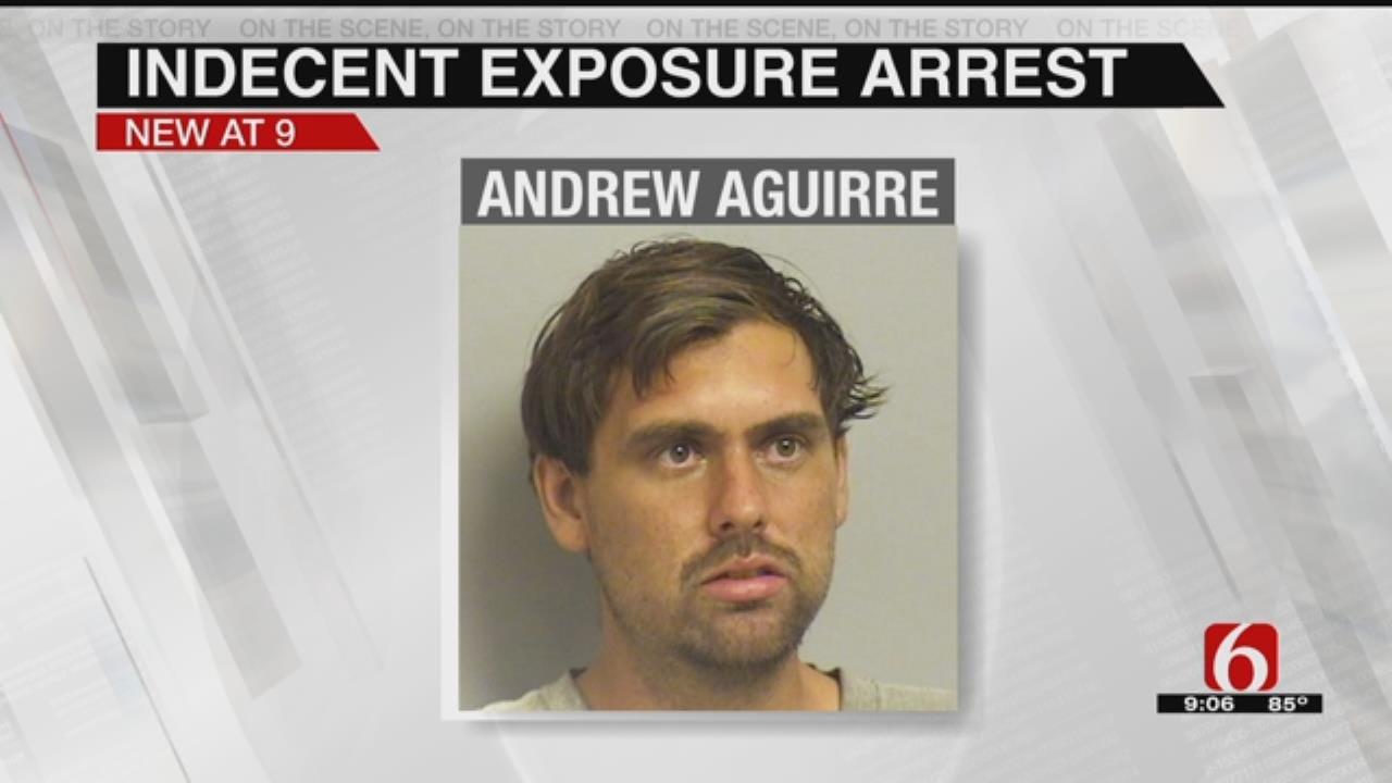 Man Arrested For Indecent Exposure, Trespassing
