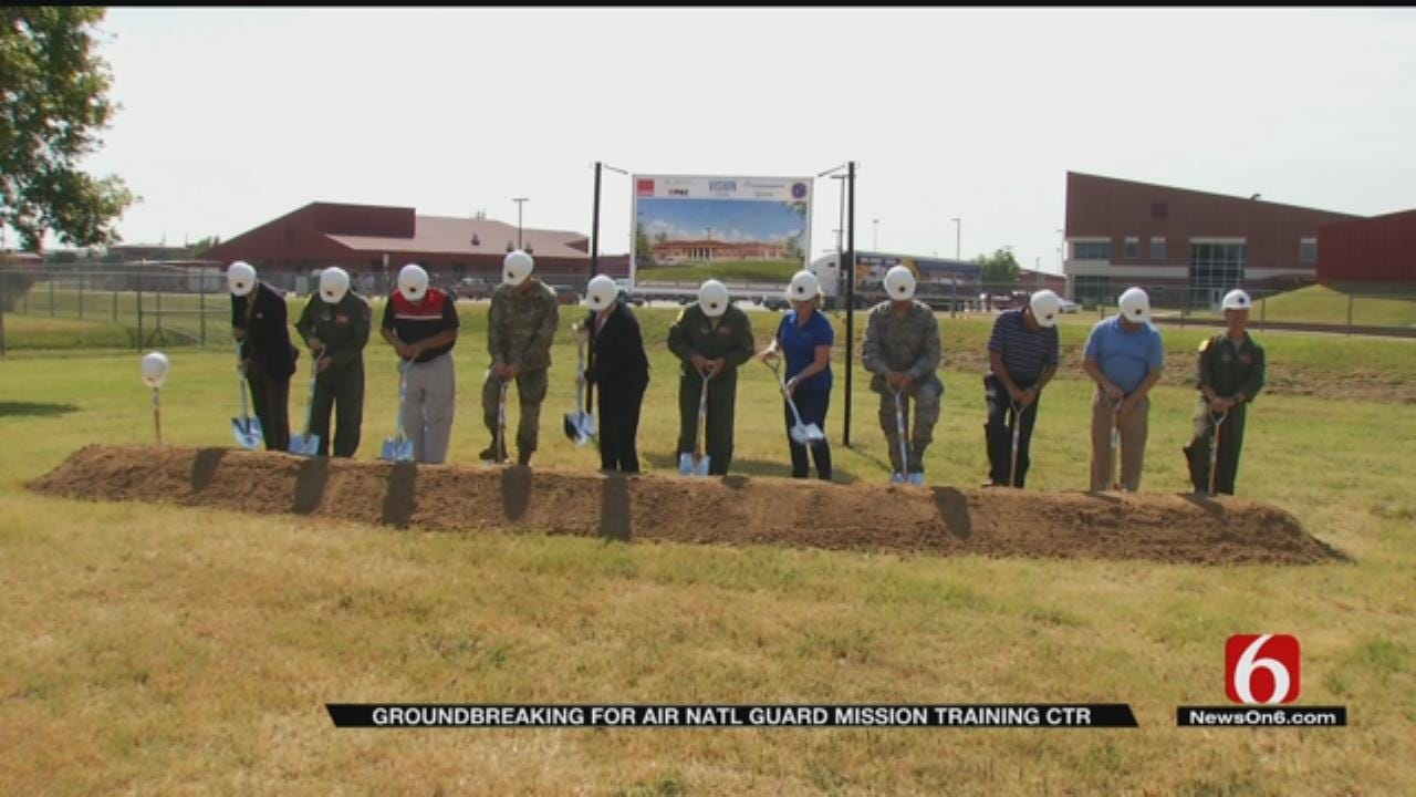 Construction Begins On Tulsa Air National Guard Training Center