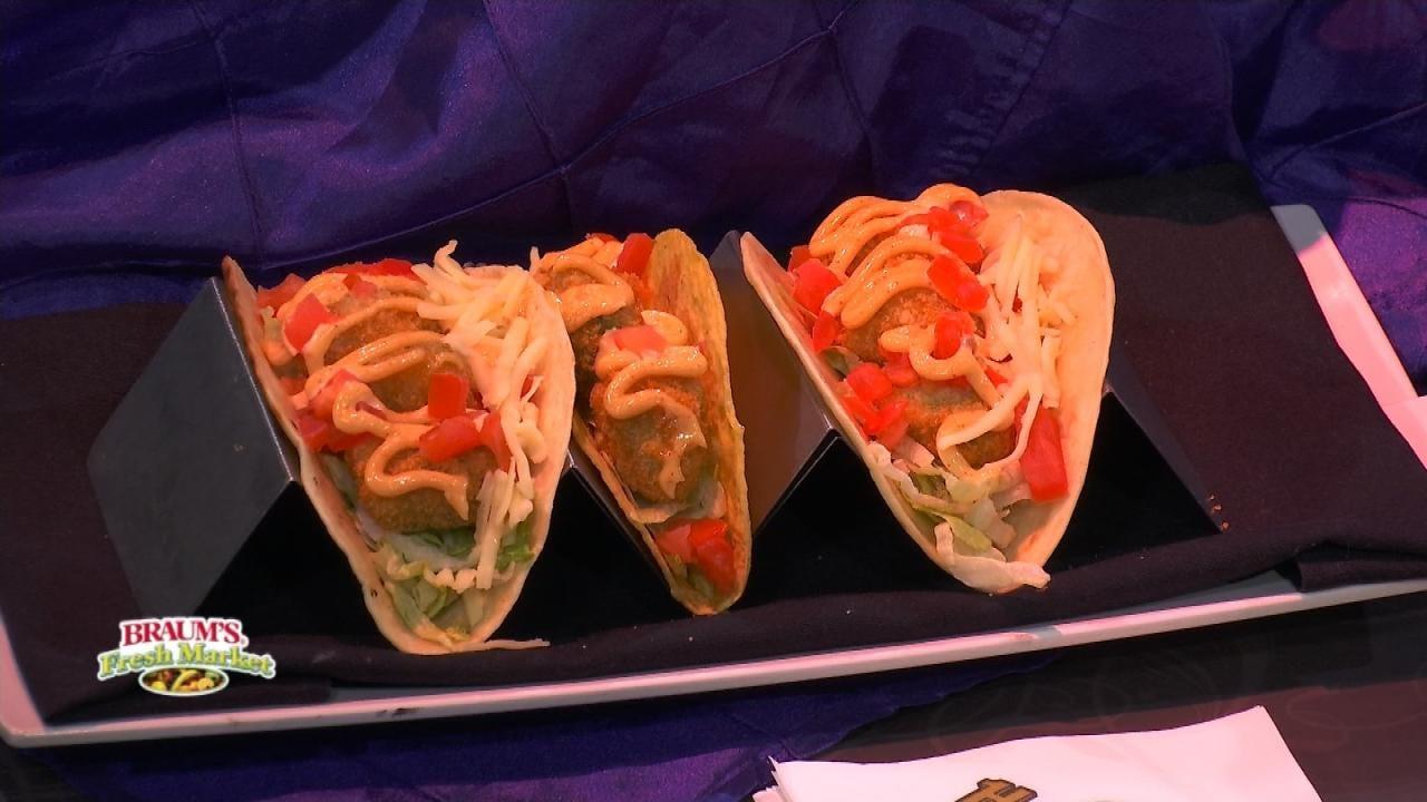 Deep Fried Avocado Tacos With Chipotle Aioli