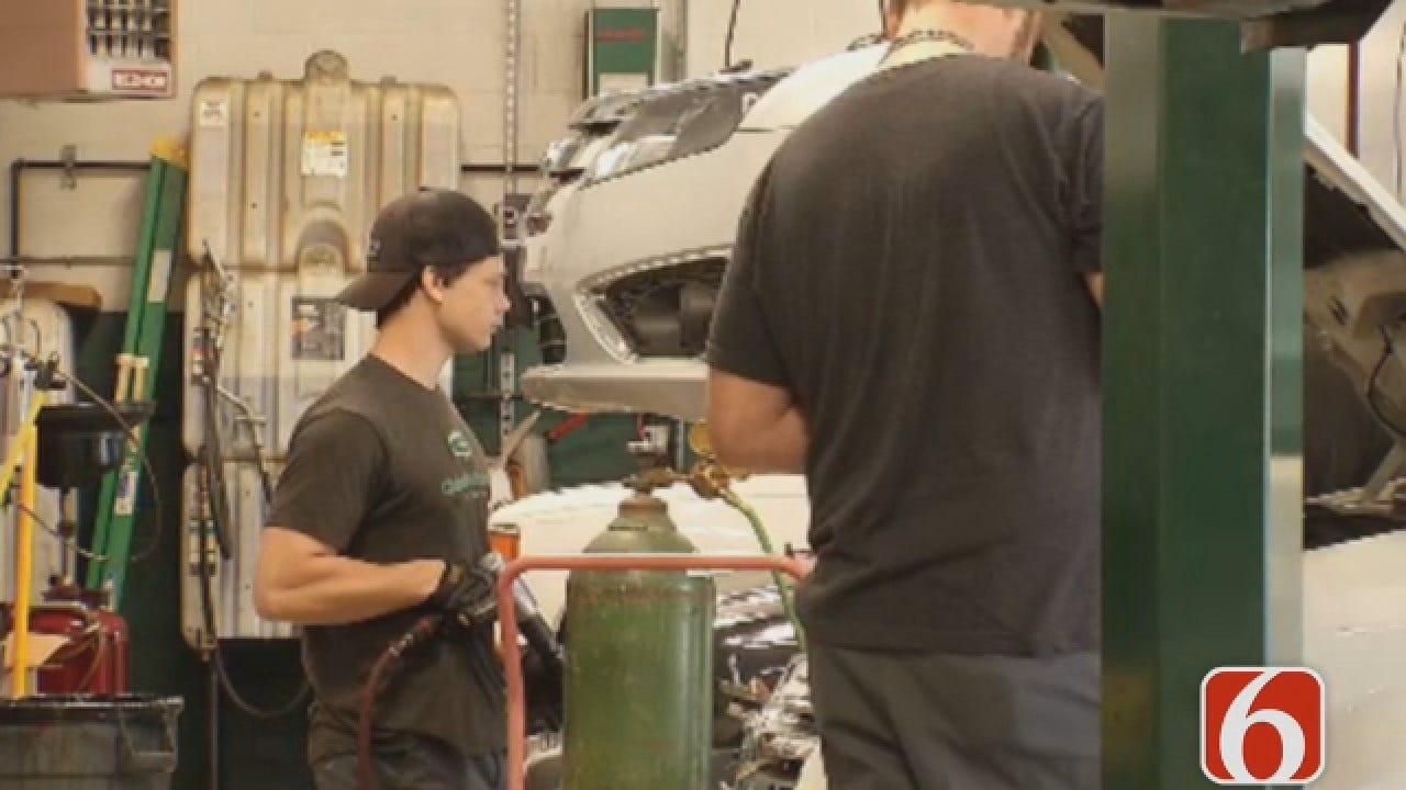 Dave Davis Says Tulsa Auto Techs Issue Warning About Flood Damaged Vehicles