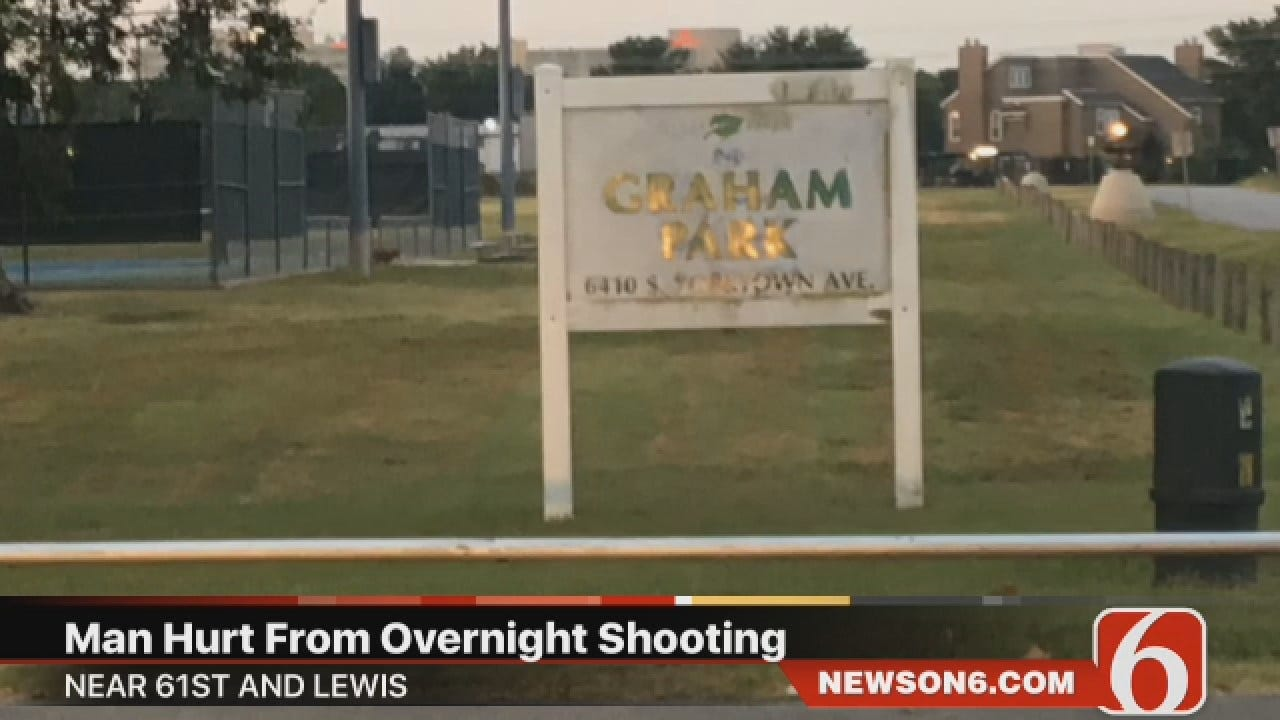 Police: Man Critical After Being Shot At Tulsa Park