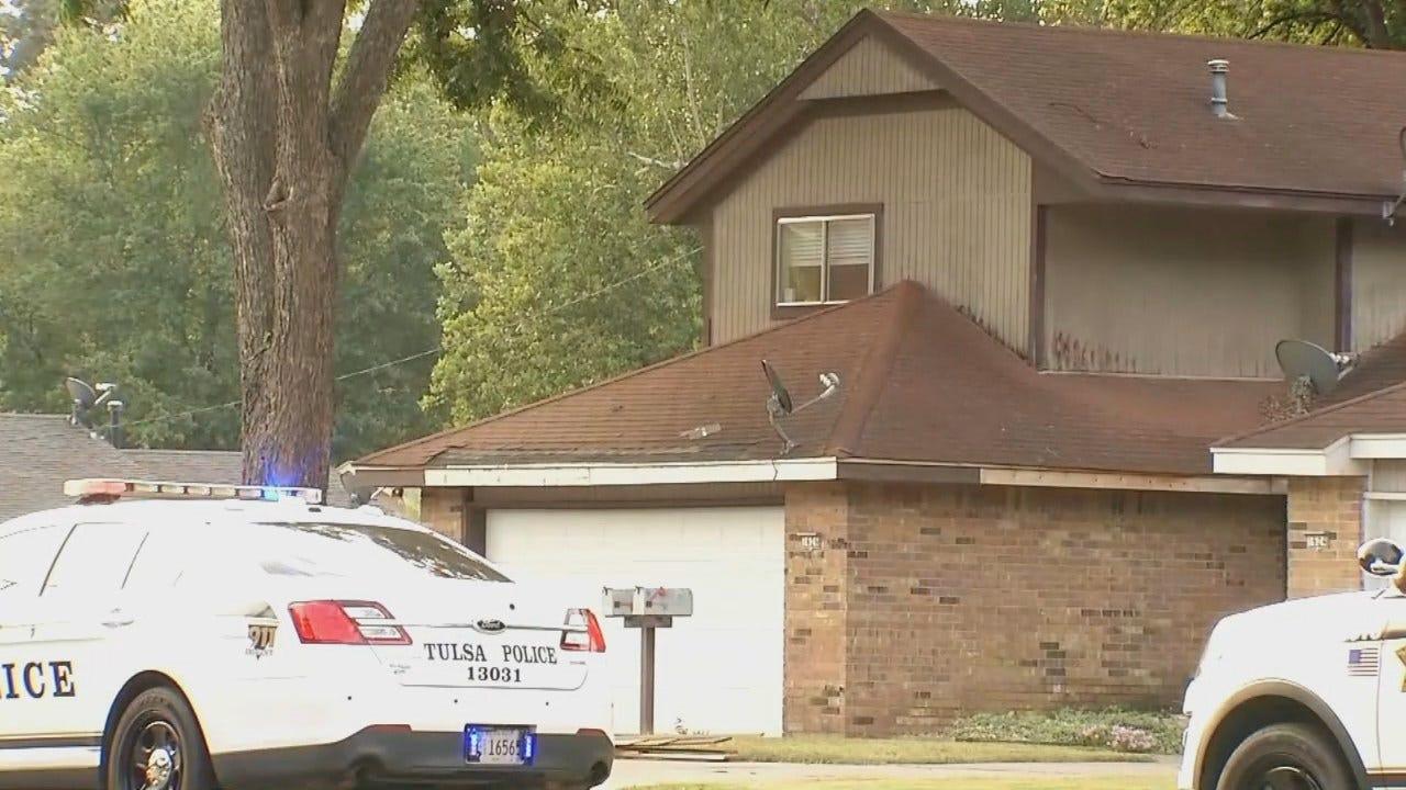 WEB EXTRA: Video From Scene Of Tulsa Home Burglary