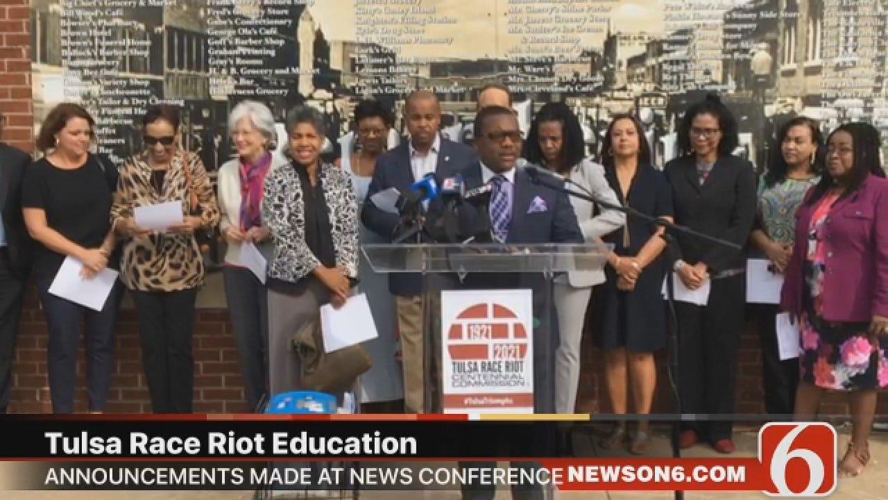 Joseph Holloway: Tulsa Race Riot Centennial Commission Announces Goals