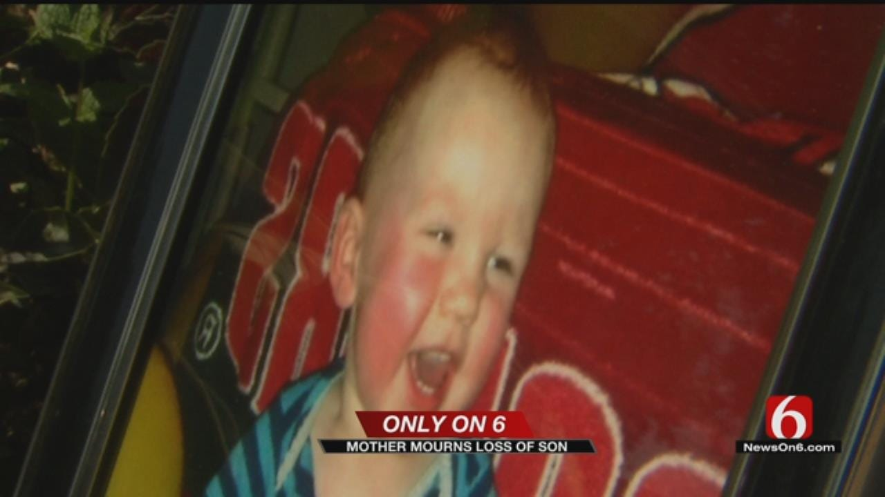 Mother Grieves Death Of 13-Month-Old Son To Tulsa Fire