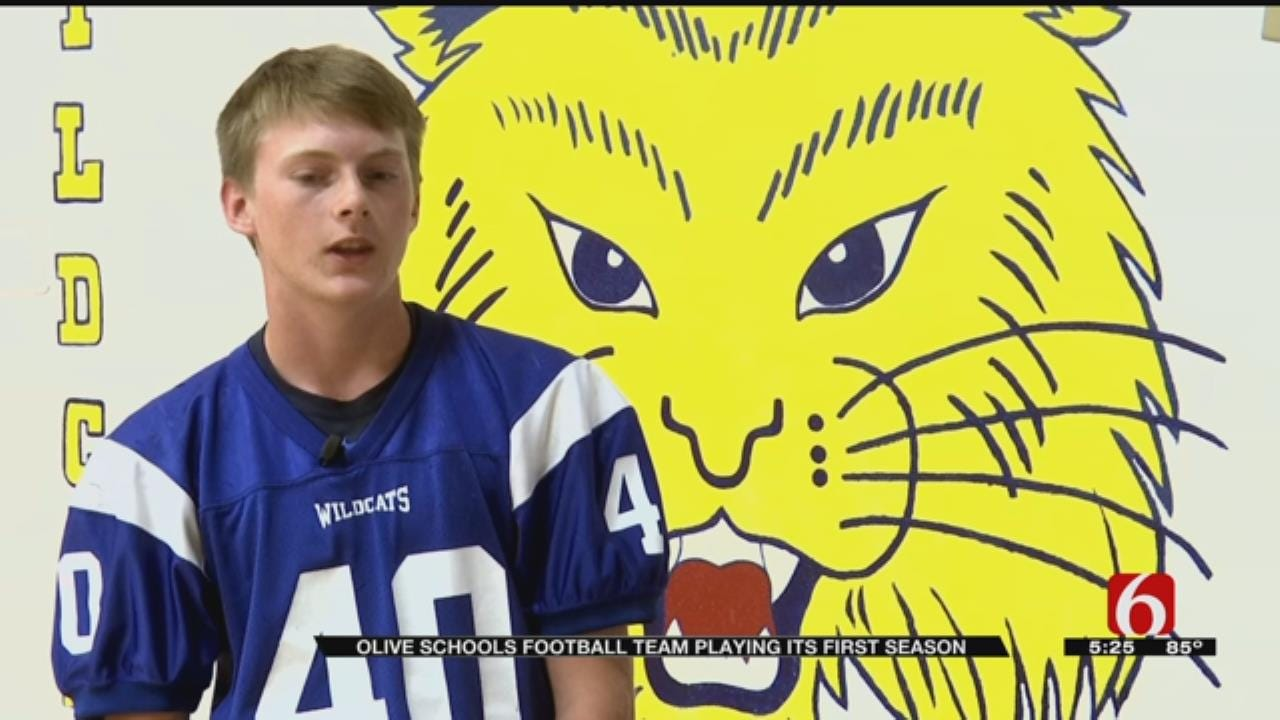 Olive Gets First Ever High School Football Team