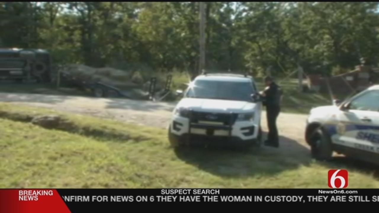 Woman In Custody After Creek County Crime Spree