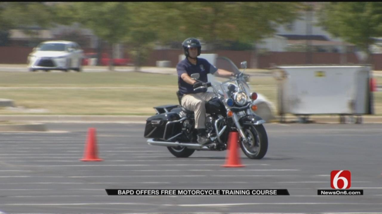 Broken Arrow PD Offers Free Motorcycle Safety Courses