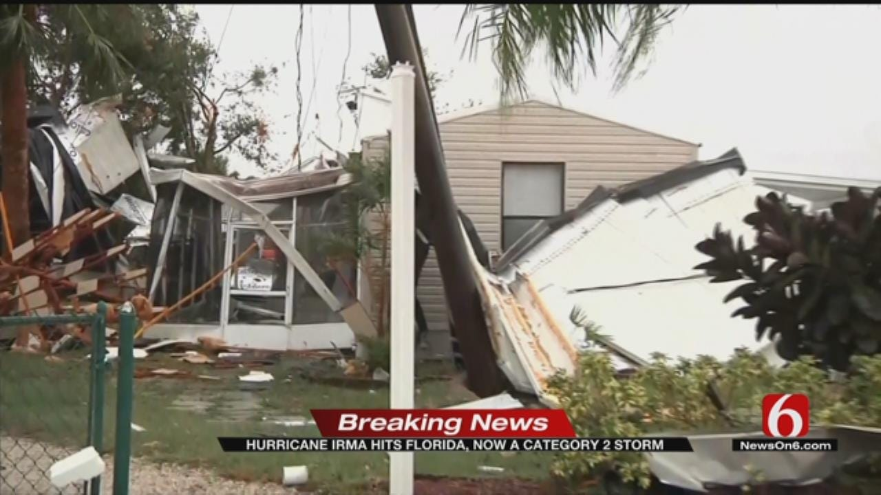 Over 3 Million Without Power In Florida As Irma Moves Through