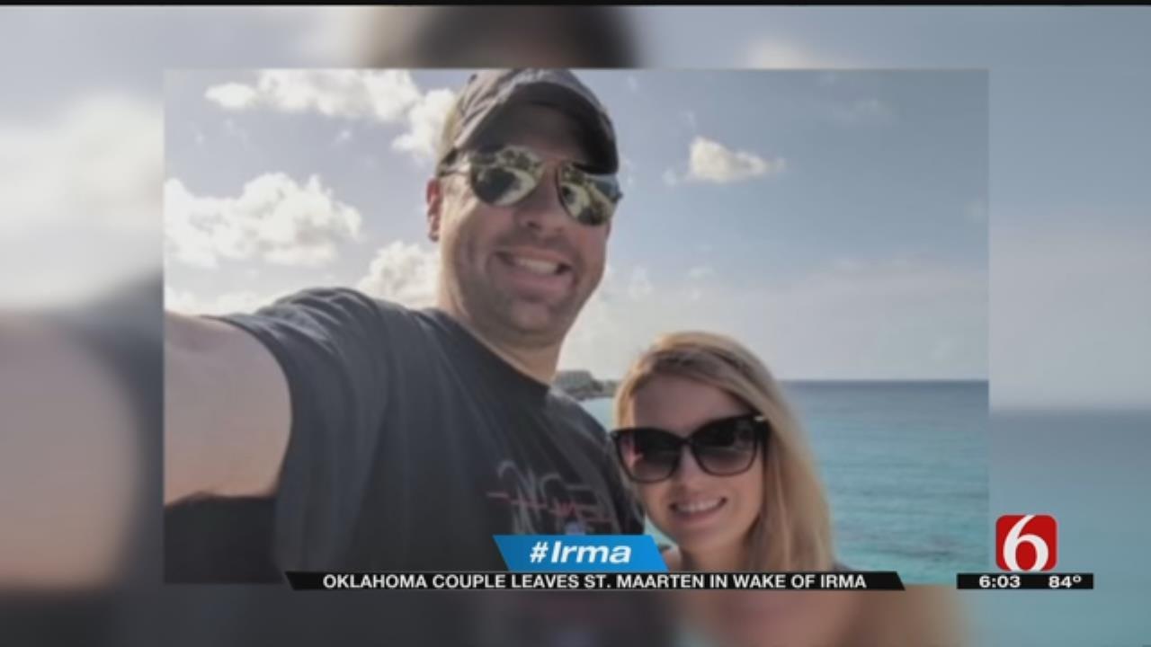 Oklahoma Couple Stranded On Irma Ravished Island