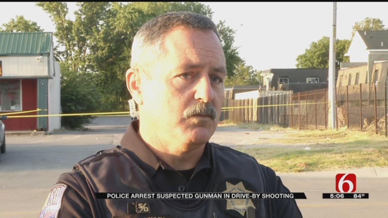 Tulsa Police Investigate Drive-By Shooting Near 61st And Peoria