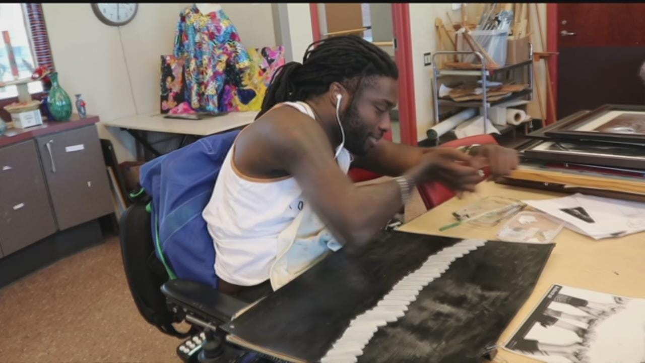 Fly The Coop: Former Football Player Turned Artist