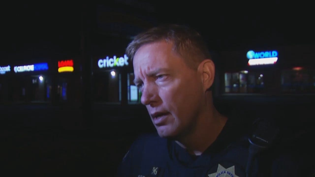 WEB EXTRA: Tulsa Police Sgt. Chris Moudy Talks About Robbery