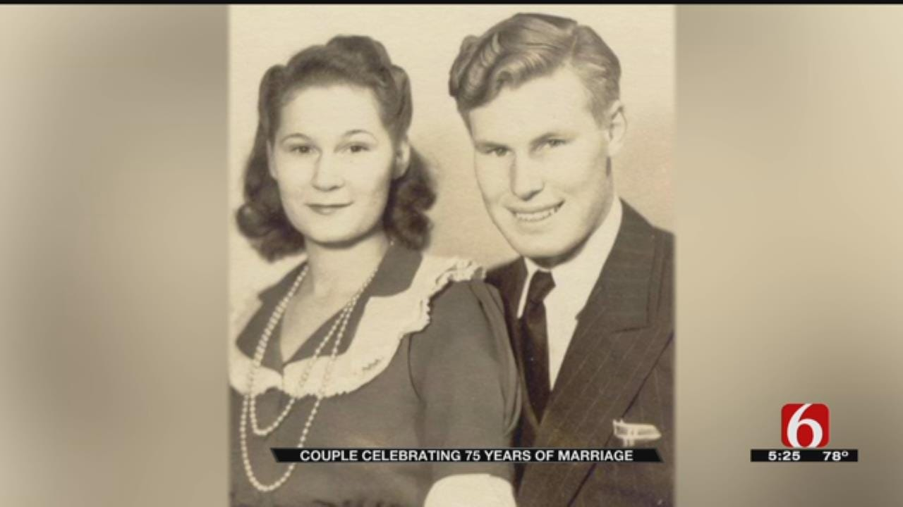 Green Country Couple Celebrates 75 Years Of Marriage