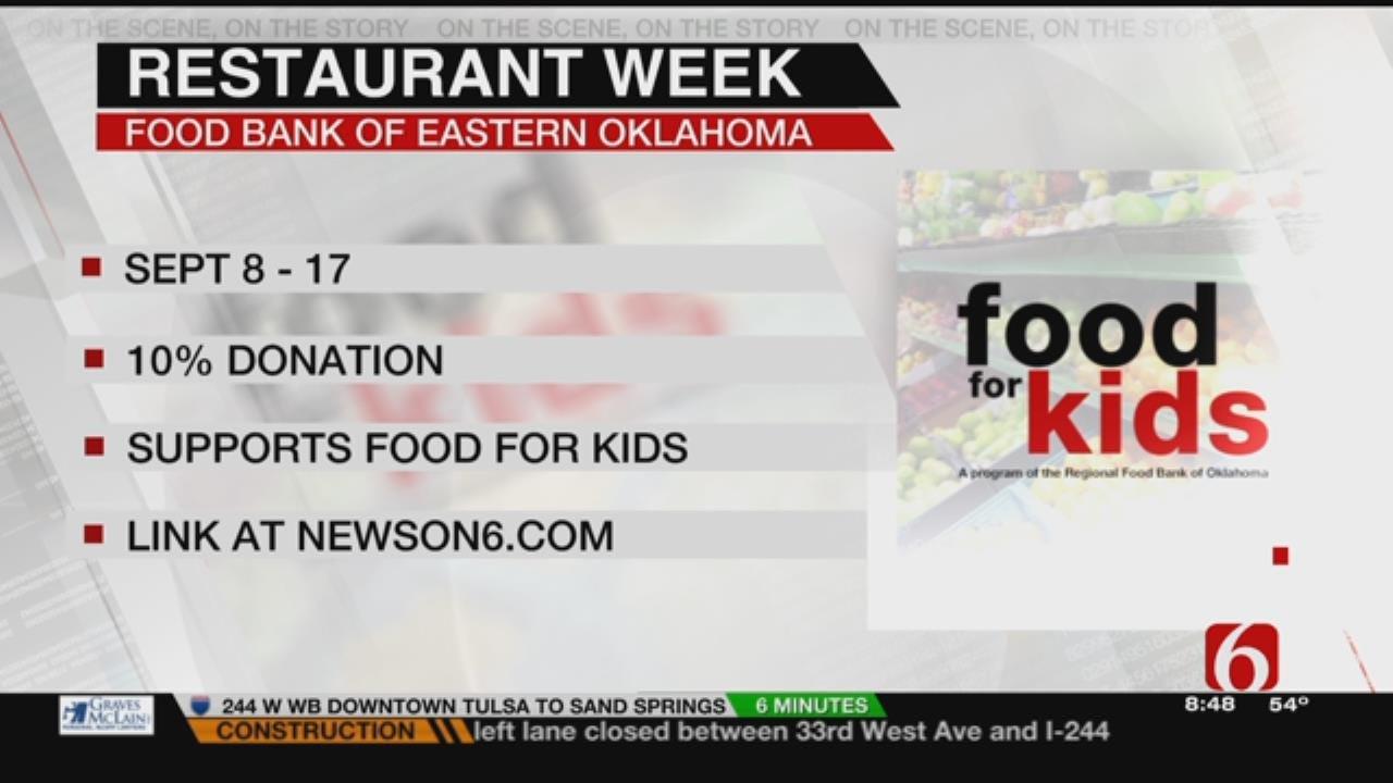 Tulsa Restaurant Week Starts Friday, Benefits Food Bank