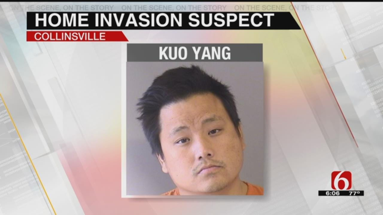 Man Shot Breaking Into Collinsville Home Behind Bars
