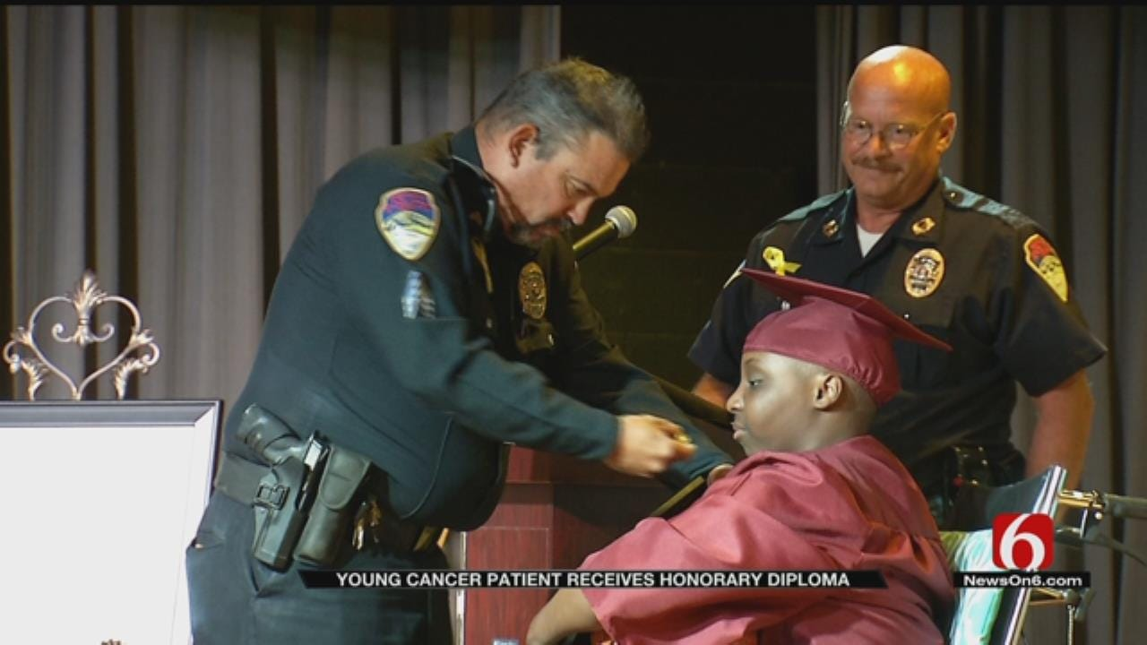 Special Graduation Ceremony Held For Eufaula Teen Battling Cancer