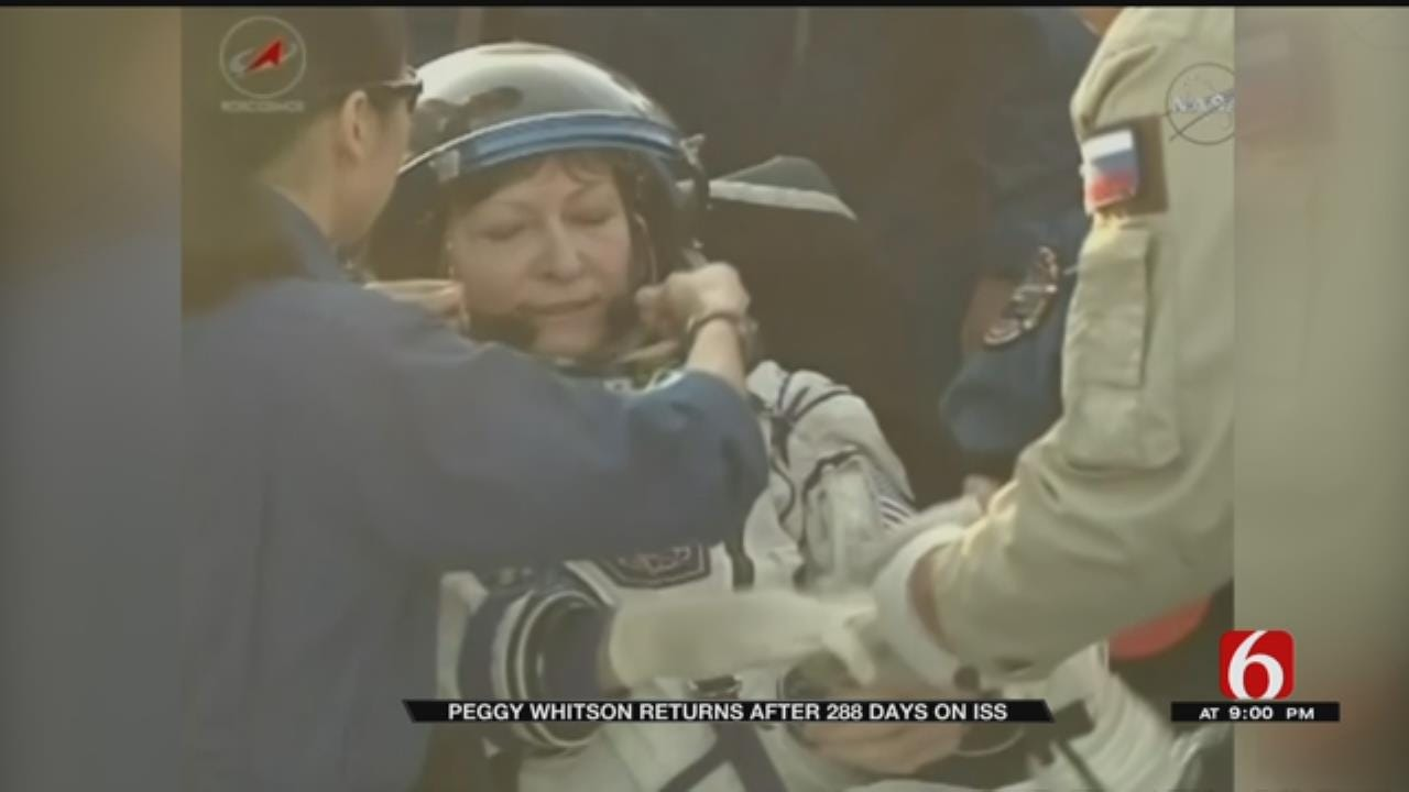 Astronaut Peggy Whitson Returns To Earth Spending Over 600 Total Days Off Planet
