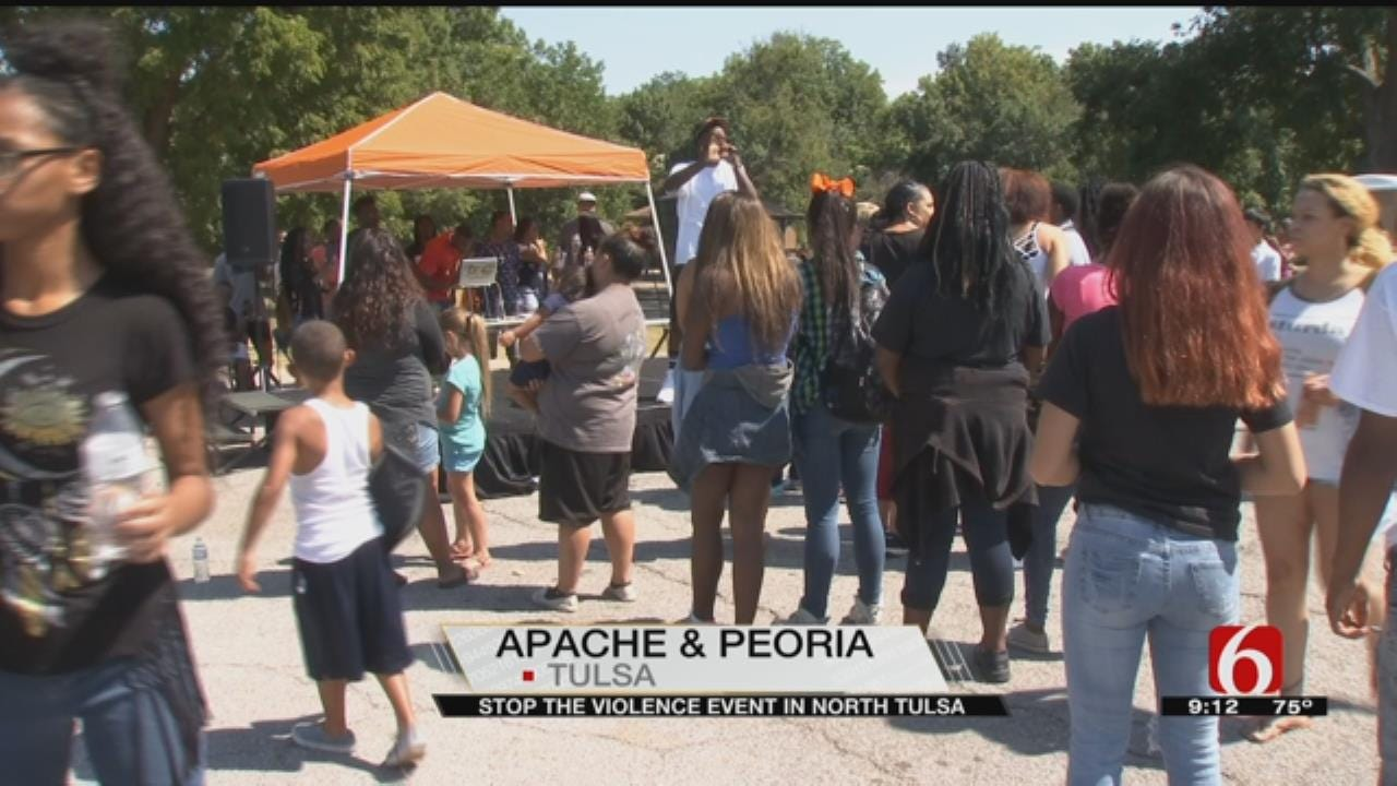 """Tulsa Holds """"Stop The Violence"""" Event"""
