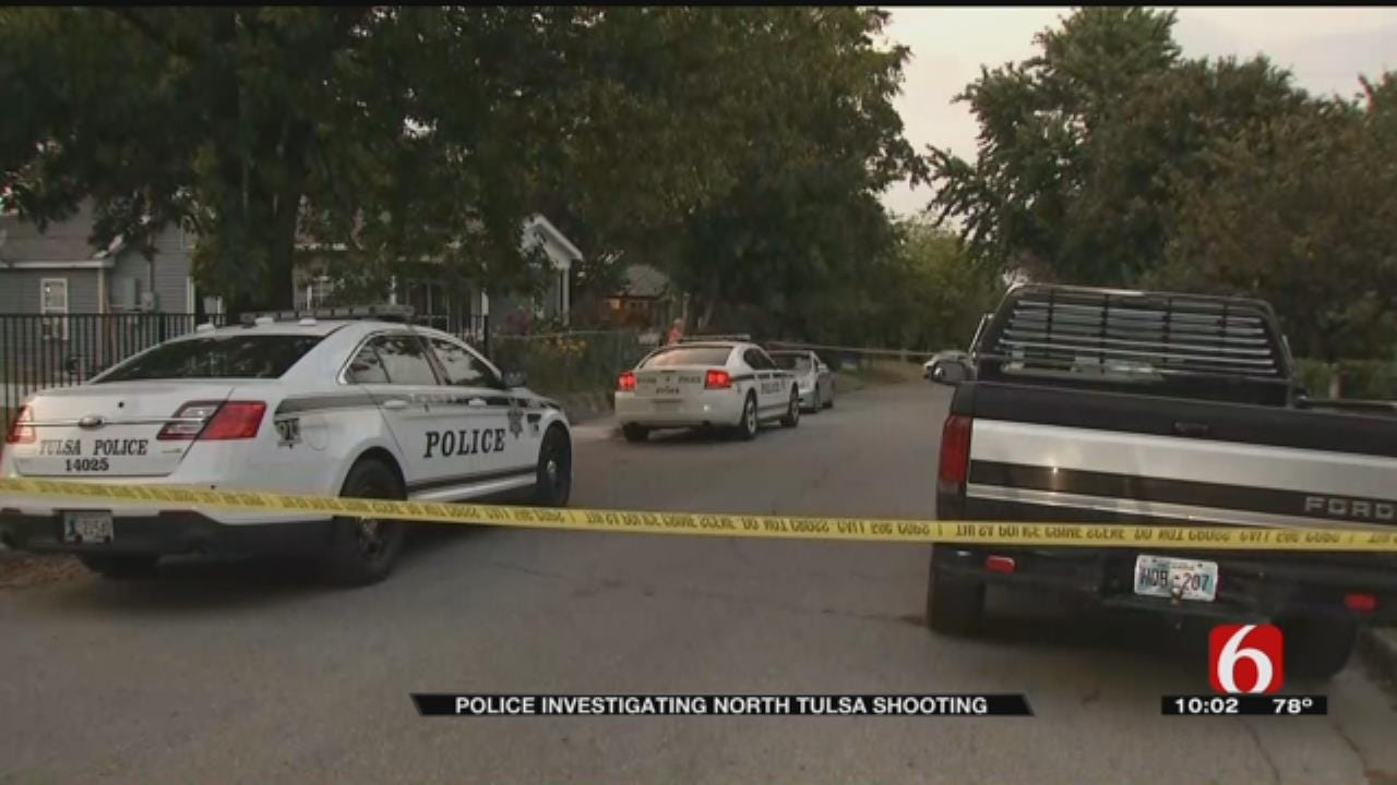 Police: Teen Shoots Man In Face In North Tulsa