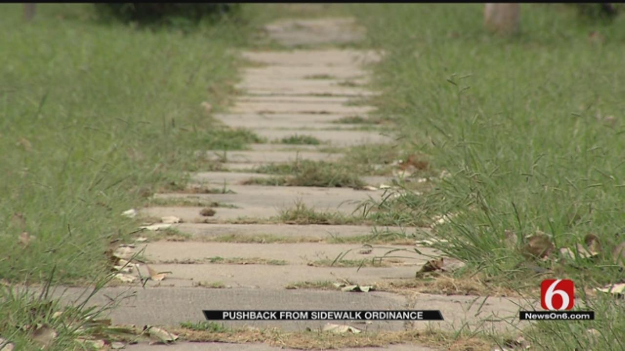 Claremore Sidewalk Ordinance Frustrates Some Residents