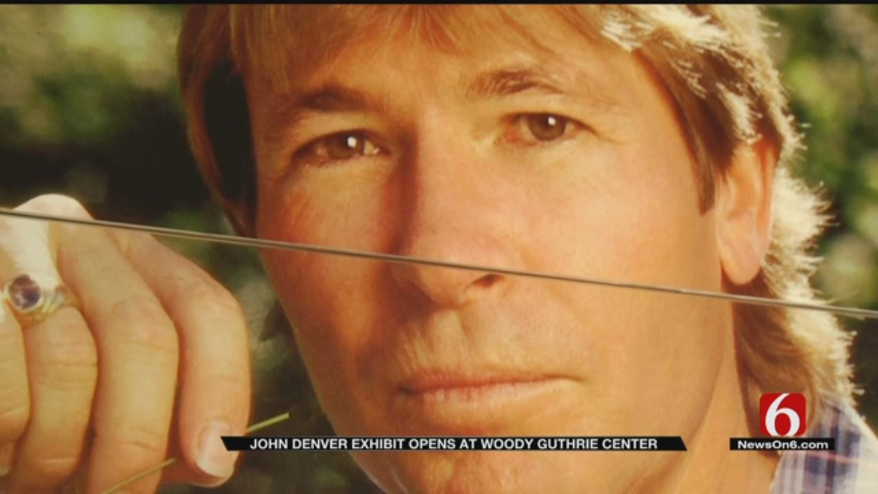 New Exhibit At Woody Guthrie Center Looks At Life Of John Denver