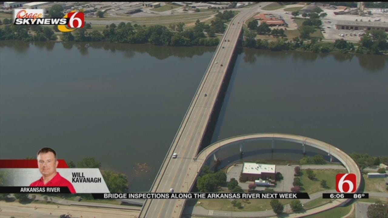 Arkansas River Bridge Lane Closures