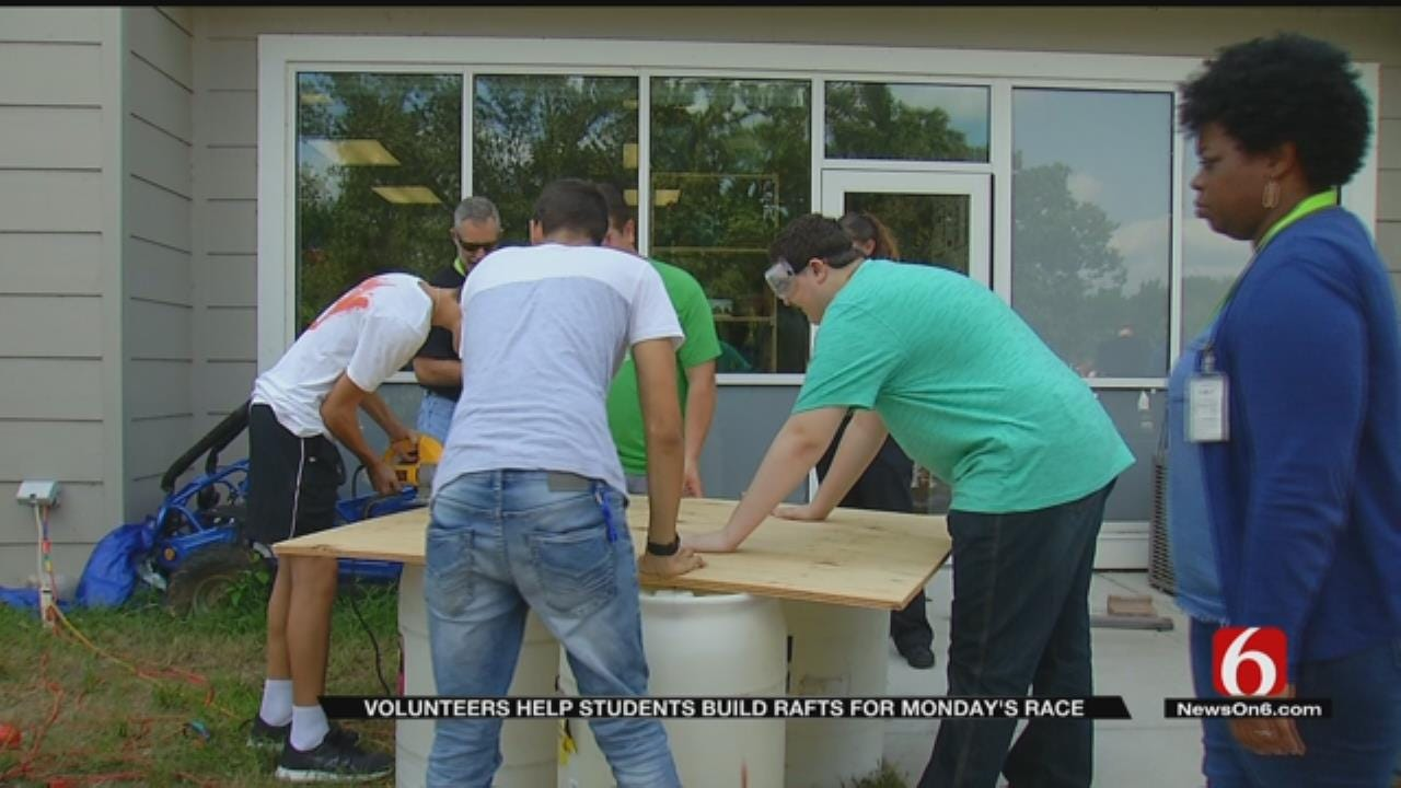 Tulsans Prepare For Great Raft Race Competition