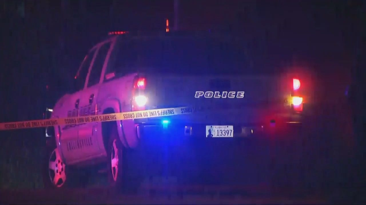 WEB EXTRA: Video From Scene Of Shooting Near Collinsville
