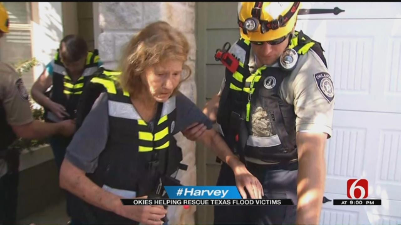 Oklahoma Rescue Crews Make A Difference In Texas