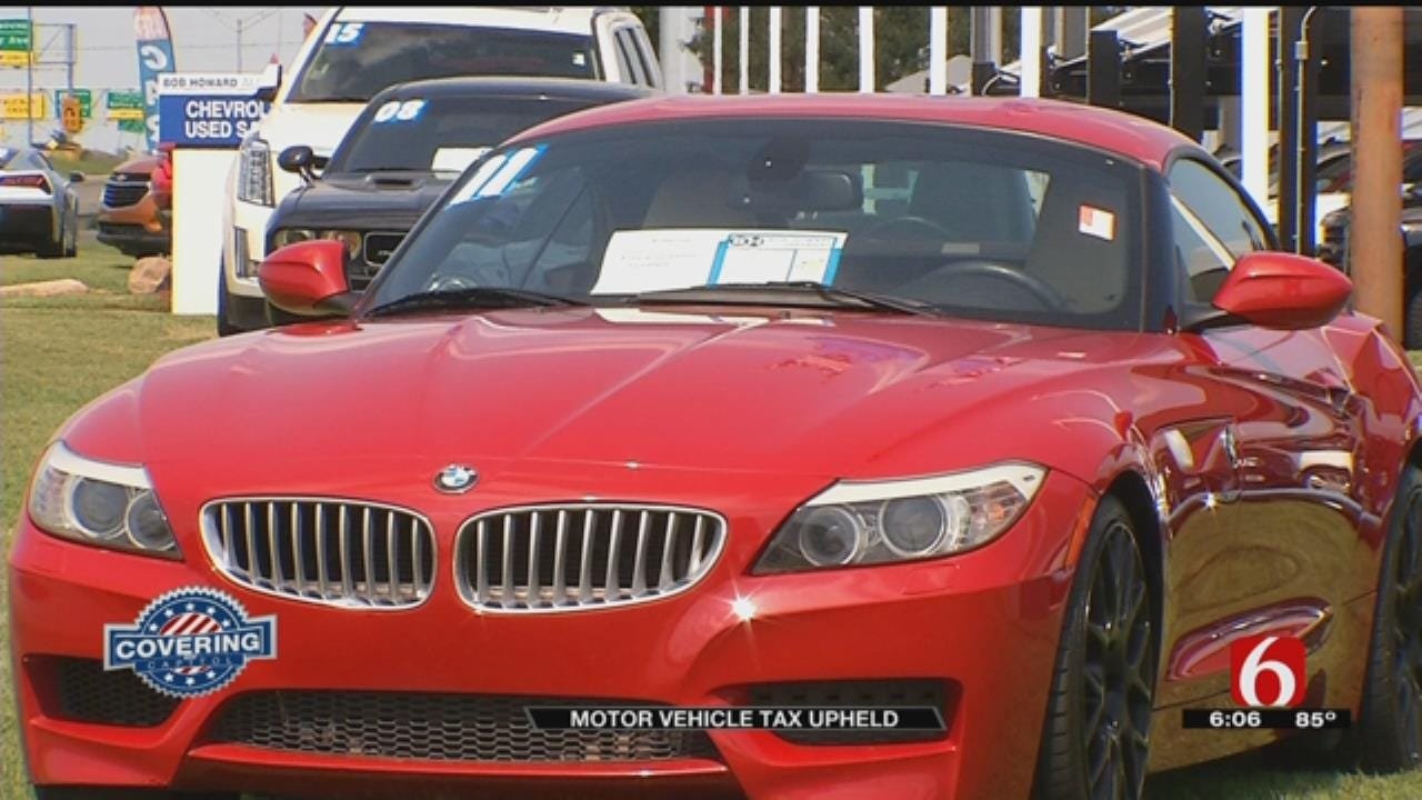 States Motor Vehicle Tax Deemed Constitutional