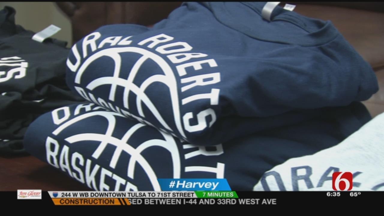ORU Coach Sending Clothing To Help Harvey Flood Victims