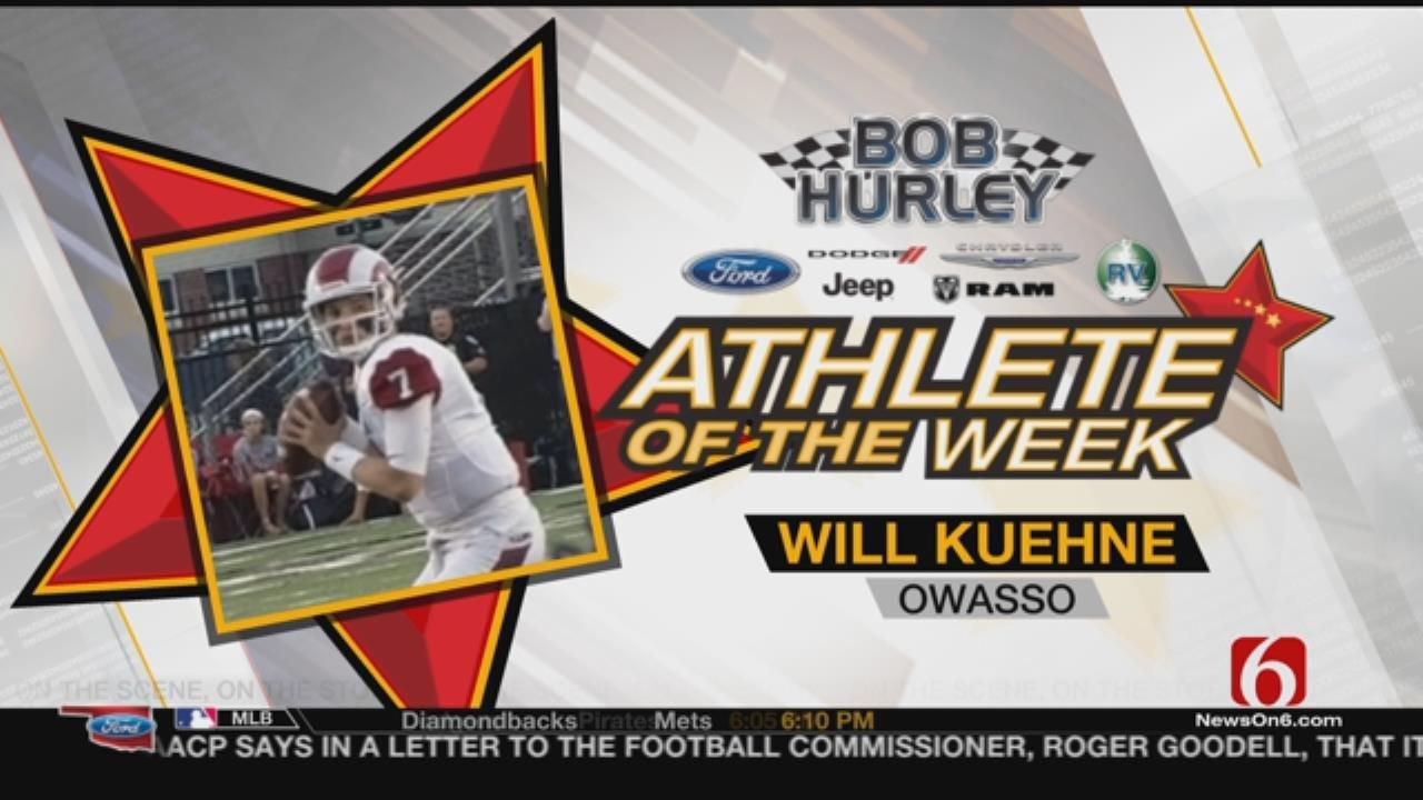 Athlete Of The Week: Owasso's Will Kuehne