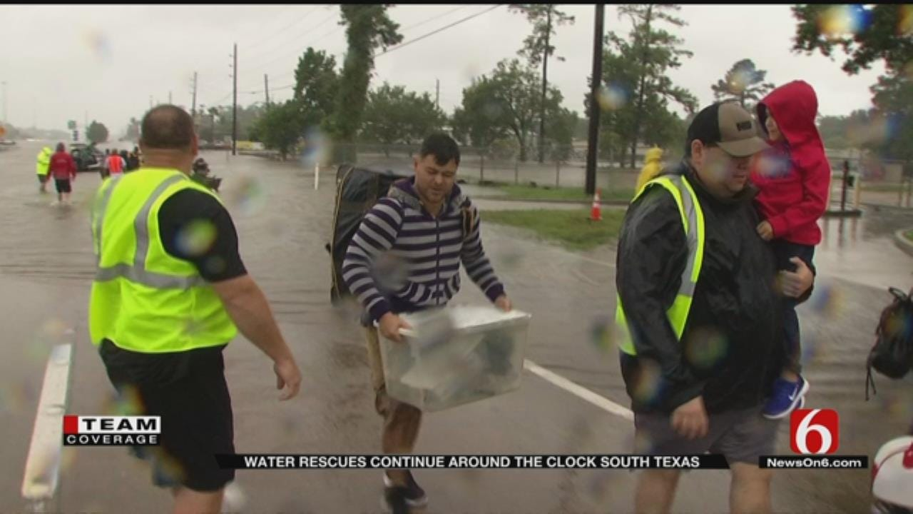 Rescue Efforts Continue As Much Of Houston Remains Underwater